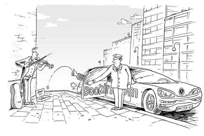 Cultuur in coronatijd: de winnende cartoon van de Inktspotbattle van vorig jaar. Is dit jaar corona weer het hoofdonderwerp?