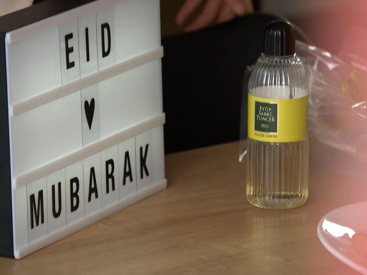Moslims vieren einde van de Ramadan op Eid al-Fitr