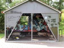 Jongerenontmoetingsplek Raalte krijgt opknapbeurt en nieuwe graffiti