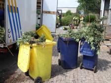 Brandweer helpt bij ontruiming hennepkwekerij  in  bedrijfspand Geldermalsen