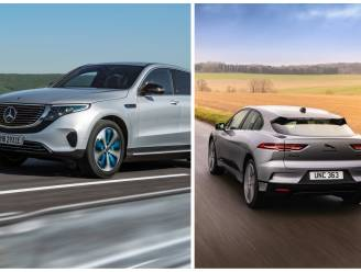 Zijn de Mercedes EQC en de Jaguar I-Pace geduchte Tesla-concurrenten? HLN Drive deed de test