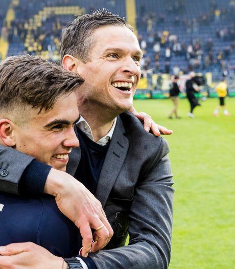 Meijer is plots succescoach: 'NAC was de betere ploeg, wij hadden het geluk aan onze zijde'