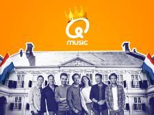 Qmusic viert Koningsdag met The Streamers bij Paleis Noordeinde