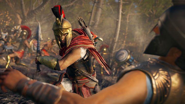 De nieuwe 'Assassin's Creed' speelt zich deze keer af in het oude Griekenland. Beeld Ubisoft