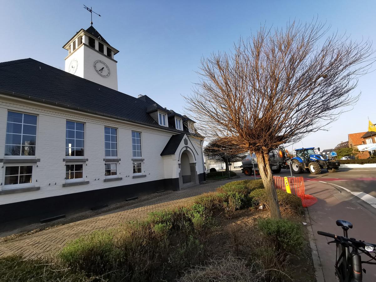 Het oud gemeentehuis van Vlezenbeek.