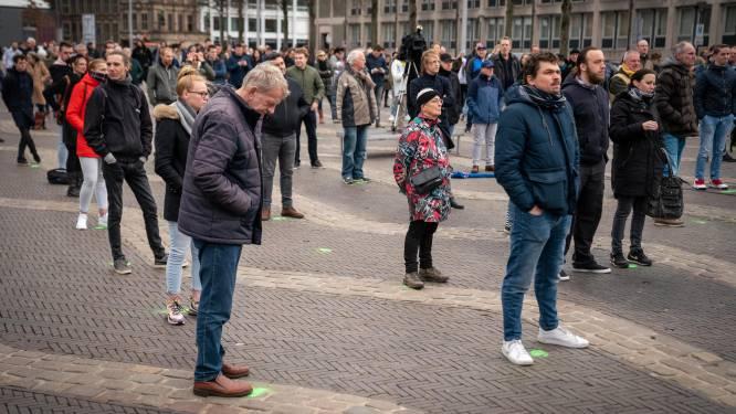 500 mensen welkom bij klimaatdemo in Arnhem; dansen op de plaats mag, maar Top 40-muziek is verboden