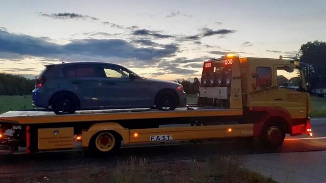Twee wagens in beslag genomen na positieve drugstest bestuurder