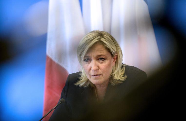 Stoot Marine Le Pen in 2017 als overwinnaar door naar de tweede ronde van de presidentsverkiezingen? Beeld AFP
