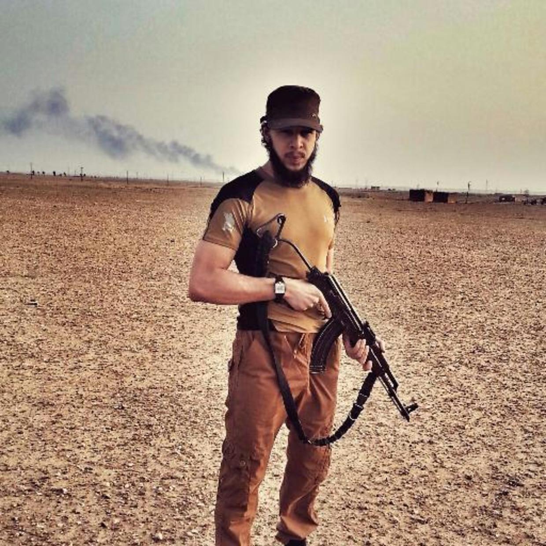 De Kortrijkse IS'er Olivier Calebout. Beeld RV