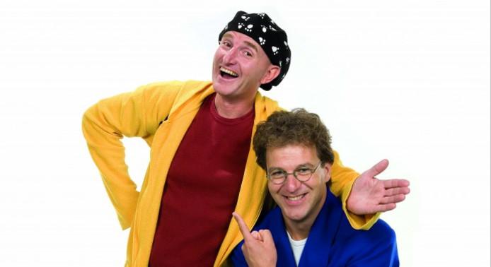 Gert-Jan (Bobbie) van den Ende (links) en Erik (Ernst) van Trommel treden al jaren samen op.