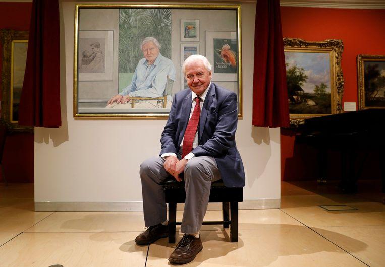 David Attenborough. Beeld REUTERS