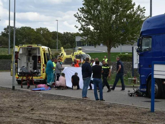 Het ongeluk in Tolkamer.