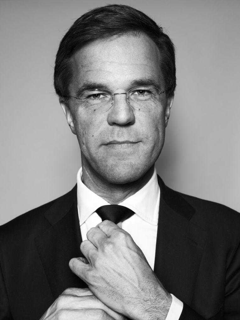 Mark Rutte. Beeld Robin De Puy