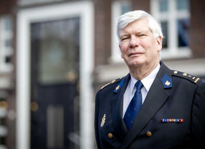 De korpschef van de Nationale Politie Henk van Essen.
