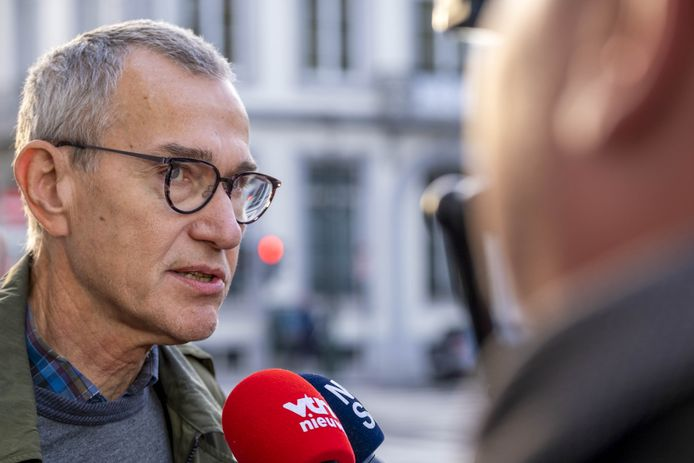 Frank Vandenbroucke a répondu aux questions des journalistes avant une nouvelle journée de discussions en vue de conclure le budget fédéral.