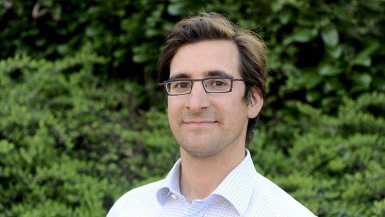 De 34-jarige kasteelheer Stijn Saelens. Beeld AFP