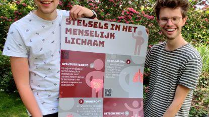 Leerkracht in opleiding werkt digitaal platform uit voor lessen biologie en scoort job bij uitgeverij VAN IN
