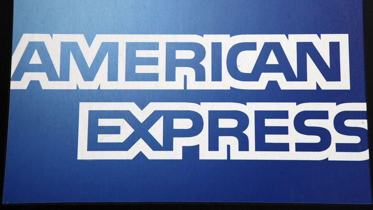 Het logo van American Express. Beeld ap