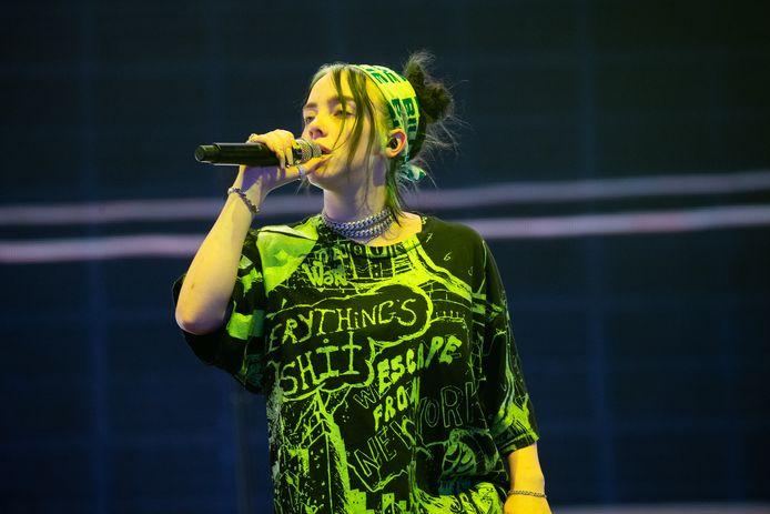 Billie Eilish zou afgelopen zomer in de Ziggo Dome hebben gestaan.
