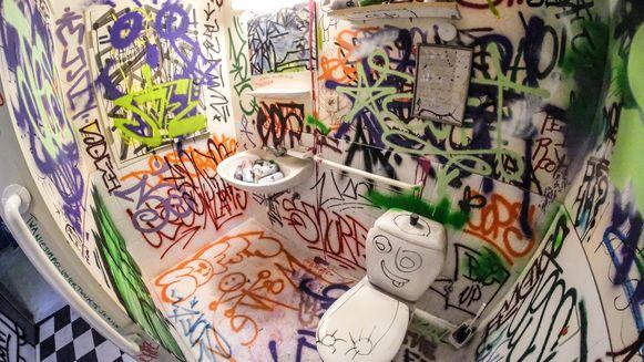 Deze badkamer is bijna niet meer te herkennen.