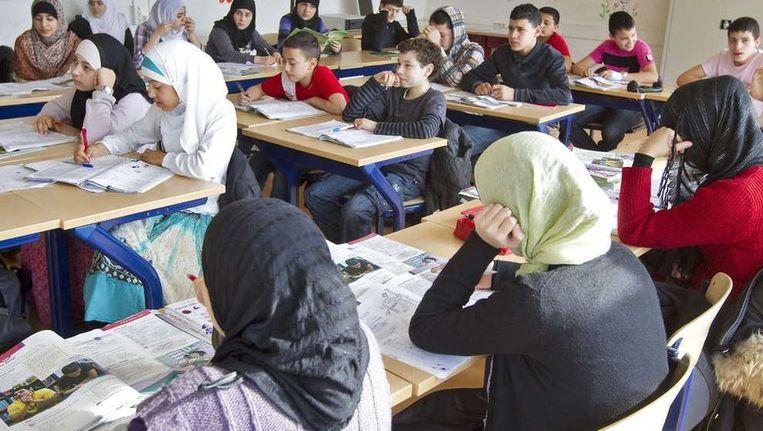 Islamitische school in Amsterdam. 'Minderheidsgroepen hebben alle ruimte zich kenbaar te maken.' ©ANP Beeld