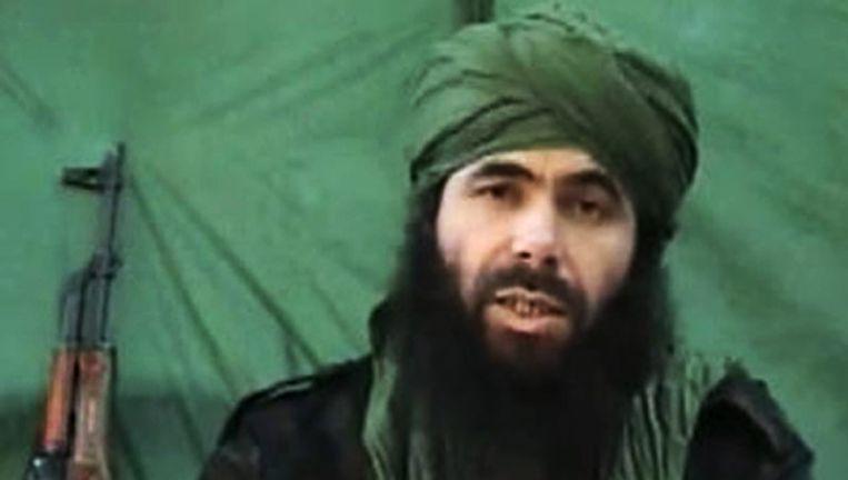 Een archieffoto van Abu Musab Abdul Wadud, de leider van Al-Qaeda in de islamitische Maghreblanden (AQIM). Beeld afp