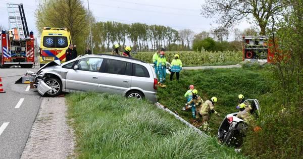 Gewonde bij ongeluk op Dierikweg in Kwadendamme.
