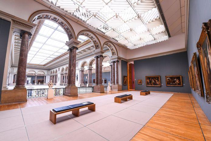 Het Museum voor Schone Kunsten in Brussel.