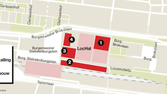 Het wordt bal in de Spoorzone, vier bouwprojecten tegelijkertijd: van 'fietsenhotel' tot woontoren