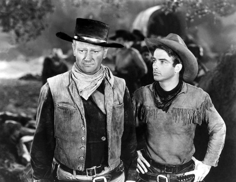 'Red River', met John Wayne, een soort held voor Jones. Beeld rv