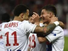Depay weer trefzeker voor winnend Lyon