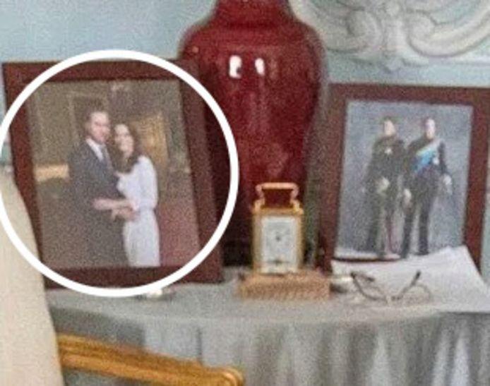 Le portrait de Meghan et Harry a désormais disparu.
