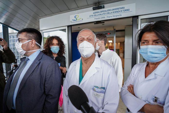 Eitan mocht het ziekenhuis verlaten.