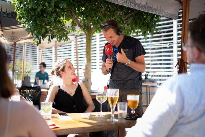 MECHELEN Andy Peelman strijkt met Q-Music's Verras Je Terras neer bij Kuub
