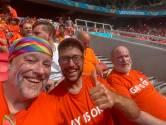Oranjefans in stadion: 'We gaan de regenboogvlag straks ophangen'