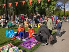 Gezellige drukte op vrijmarkt in Valkenberg Breda
