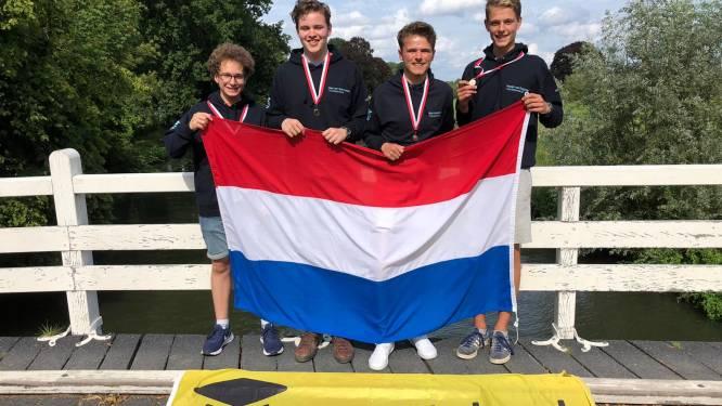 Scholieren uit Raalte en Brummen vallen in de prijzen op WK voor aardrijkskunde: 'Beetje boven mijzelf uitgestegen'