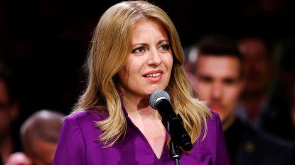 Liberale advocate Zuzana Caputova wordt eerste vrouwelijke Slovaakse president