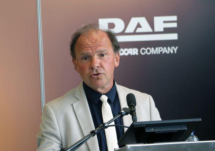 Vlaams minister van Werk Philippe Muyters (N-VA) gaf een toespraak bij de aankondiging van de investering.