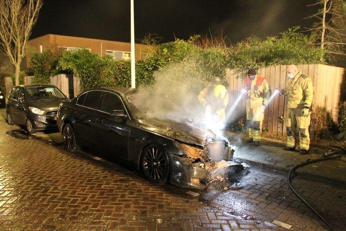 Het is de tweede keer in twee jaar dat de auto van de eigenaar in brand werd gestoken.