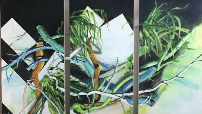 Kunst aan het raam vervangt de jaarlijkse expo bij Palmzondag