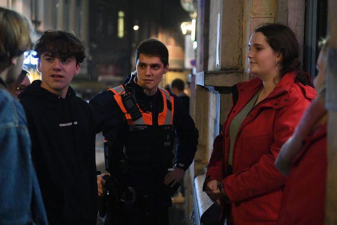 Nachtje stappen met de Studentenflik van Leuven.Fakbar Tiensestraat