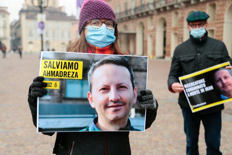 Amnesty International voert nog steeds campagne om de Iraans-Zweedse wetenschapper Ahmadreza Djalali vrij te krijgen. Beeld Photo News