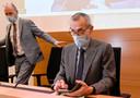 Minister van Volksgezondheid Frank Vandenbroucke en het hoofd van de taskforce vaccinatie, Dirk Ramaekers.