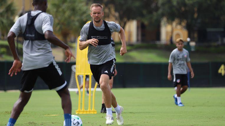 Siem de Jong traint met FC Cincinnati. Zijn laatste wedstrijd speelde hij in januari, voor Ajax. Beeld Pro shots