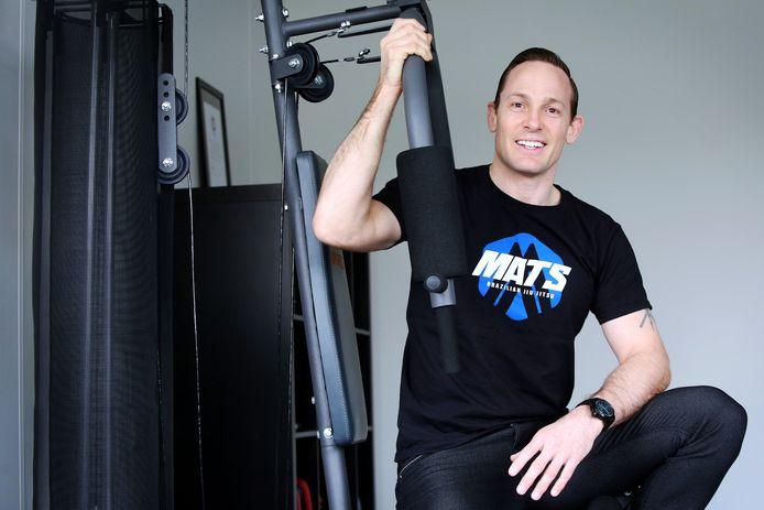 Bart Aarts van de Bredase sportschool MATS (met vooral Braziliaanse jiu-jitsu).