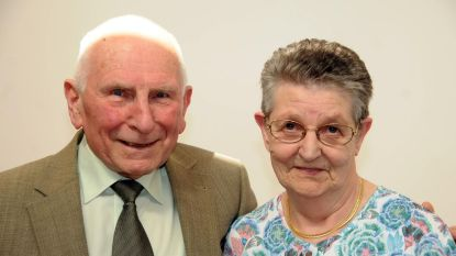 Gaby en Maurice zestig jaar getrouwd