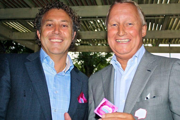 De initiatoren: Ronald Koster (Coster Diamonds) en Jan Semeins (r). Beeld