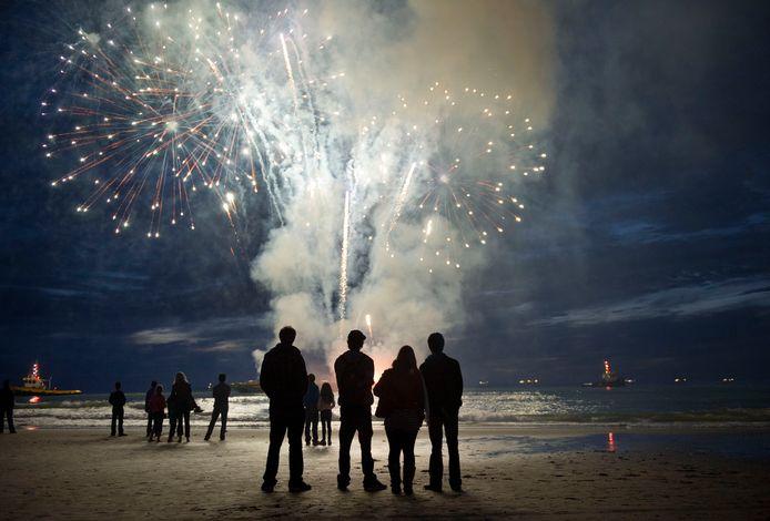 Beeld ter illustratie: Vuurwerk in Scheveningen