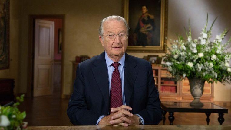 Koning Albert II. Beeld photo_news